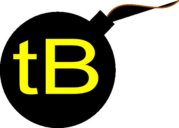 Tb bomb clip art at vector clip art.