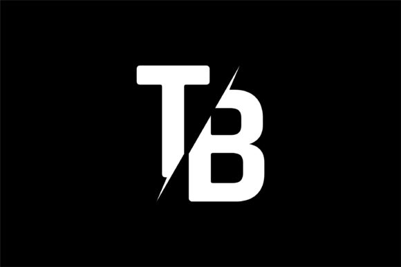 Monogram TB Logo Design.