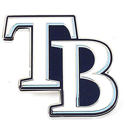 Amazon.com : Tampa Bay Rays Logo Pin.