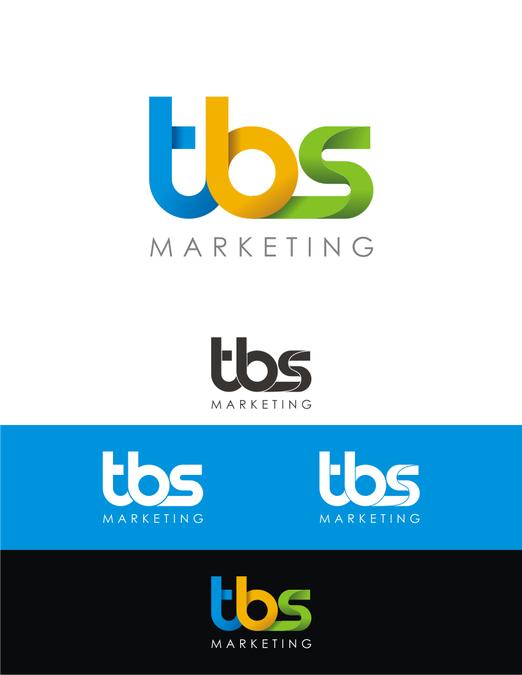 Modern Geometric logo for \'TBS\'.
