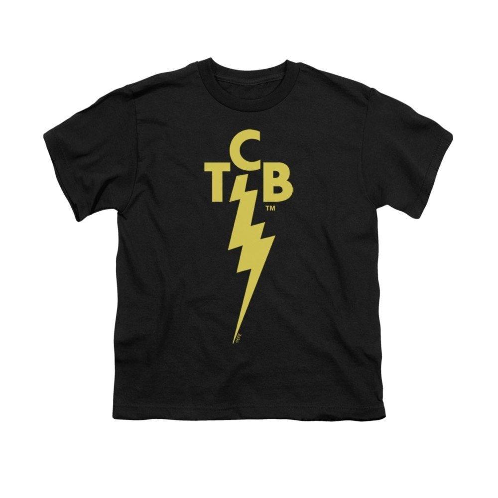 Amazon.com: Sons of Gotham Elvis TCB Logo Youth T.