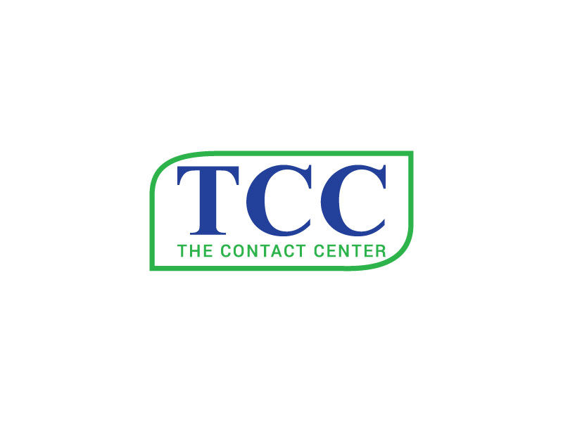 Entry #381 by imcopa for The Contact Center (TCC) Logo.