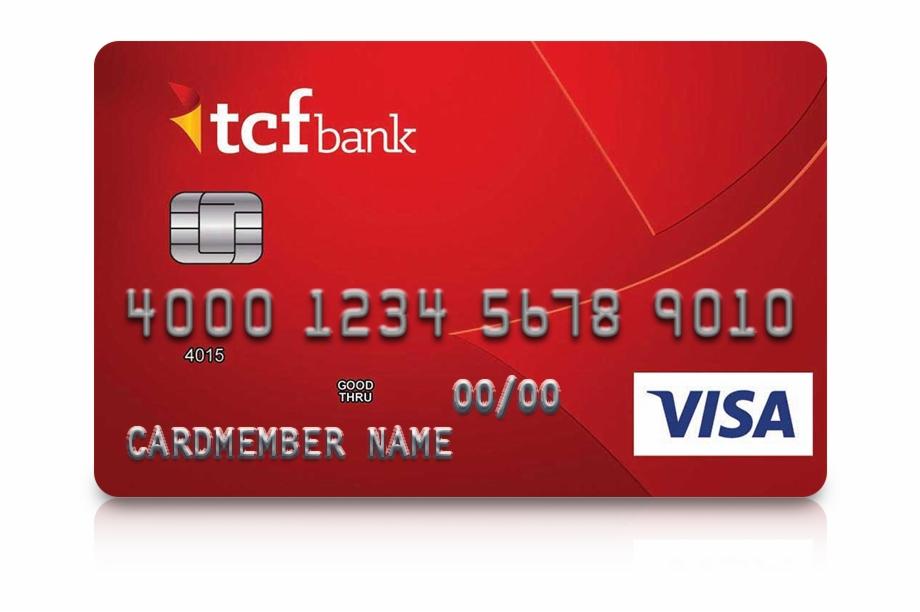 Tcf Bank Credit Card Artwork.