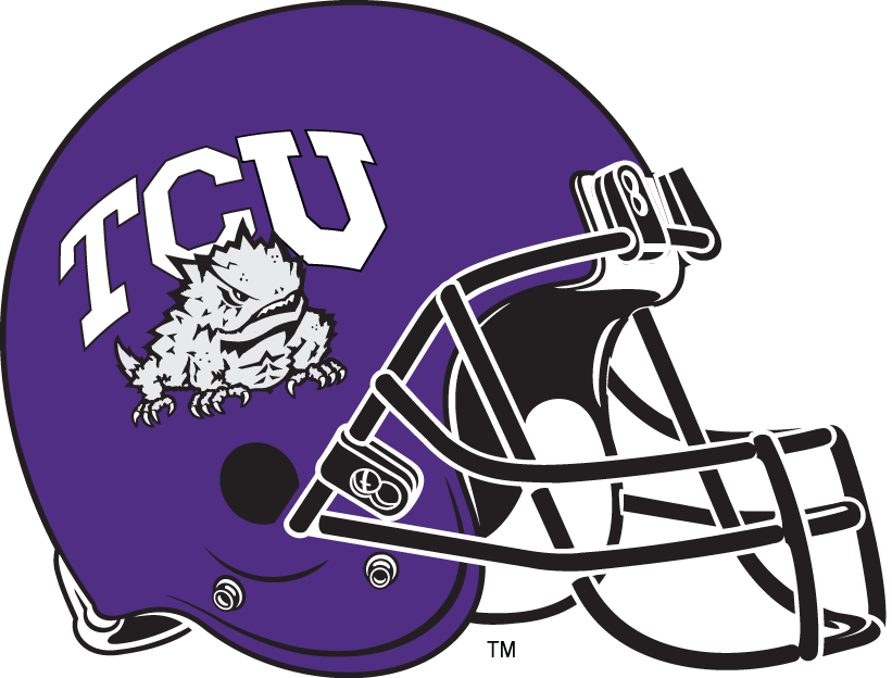 TCU Horned Frogs Logo Clipart.