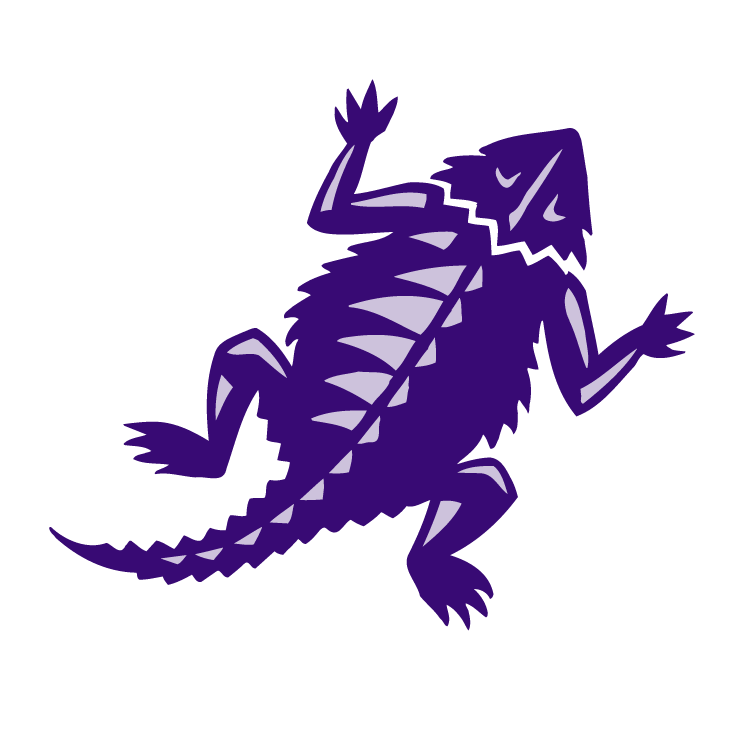 Tcu horned frogs Free Vector.