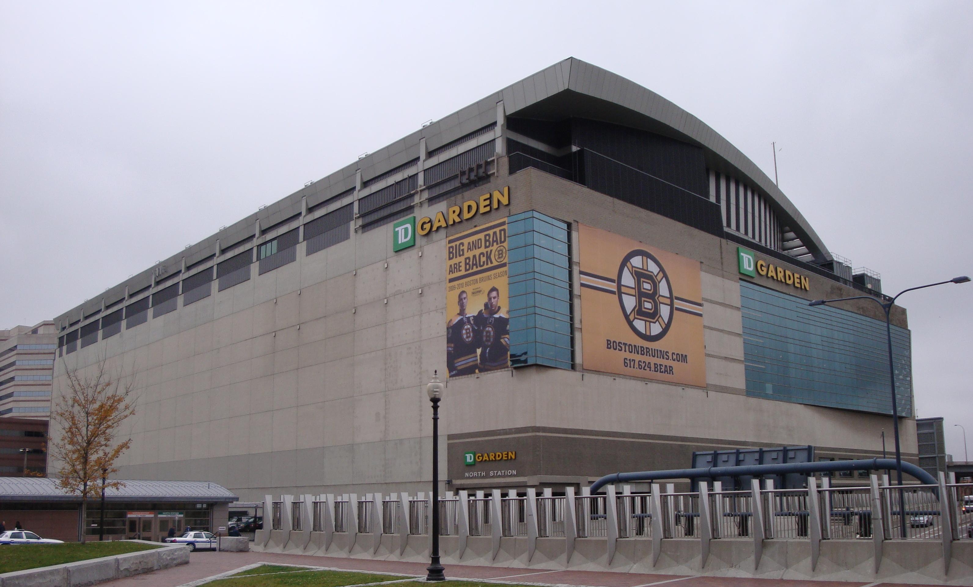 TD Garden.