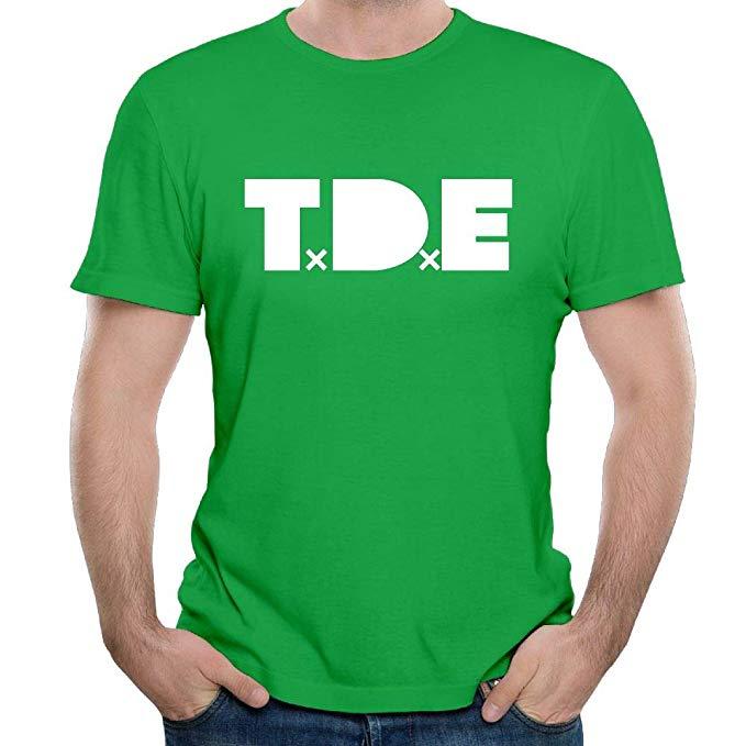 Men\'s TDE Logo Dreamville Records Short Sleeves T.