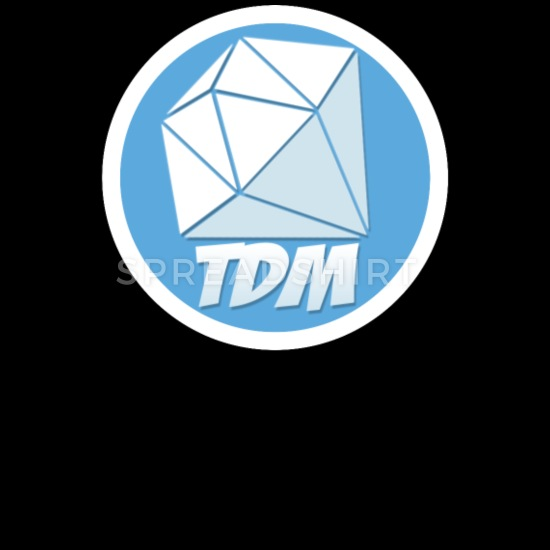 Dan TDM Logo Diamond Men\'s Zip Hoodie.