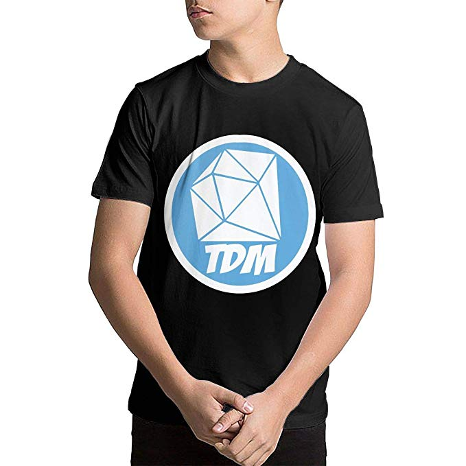 Amazon.com: Youth DanTDM Dan TDM Logo Teenage Boys Teens.