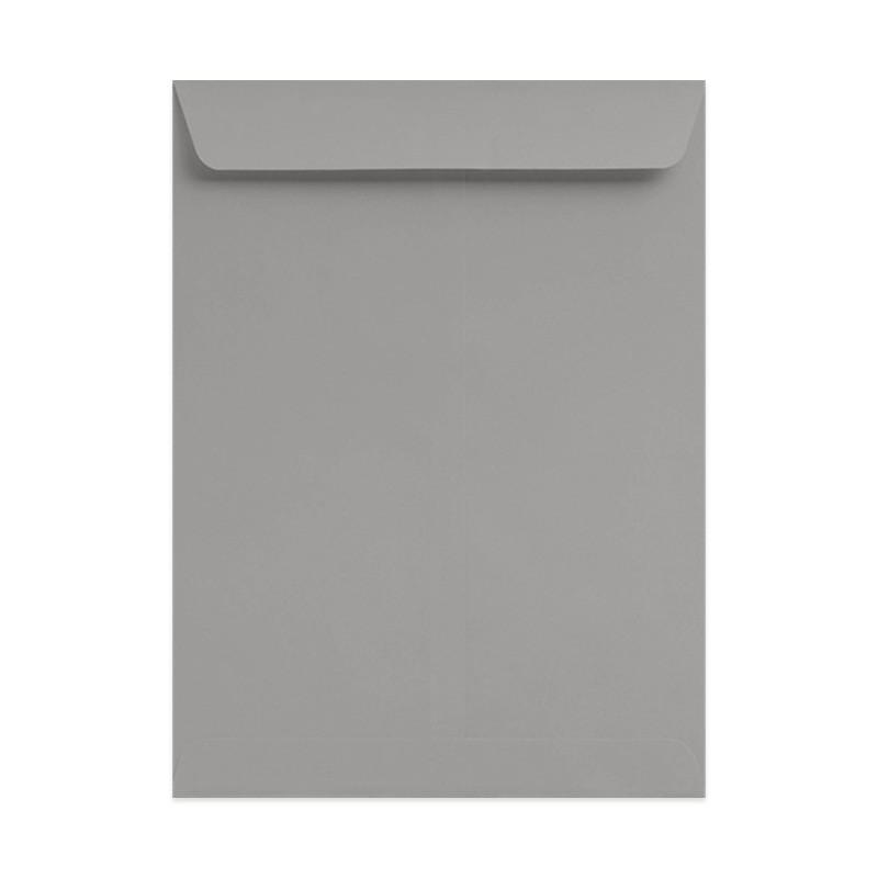 9 1/2 x 12 1/2 Shasta Gray Catalog Envelopes.