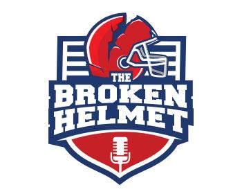 helmet logo design.