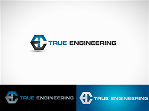Elegant, Serious, It Company Logo Design for TE True.