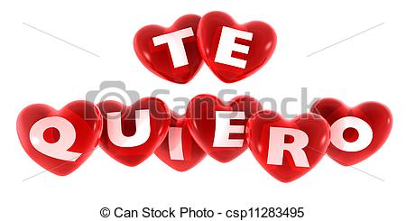 Te quiero Illustrations and Clip Art. 15 Te quiero royalty free.