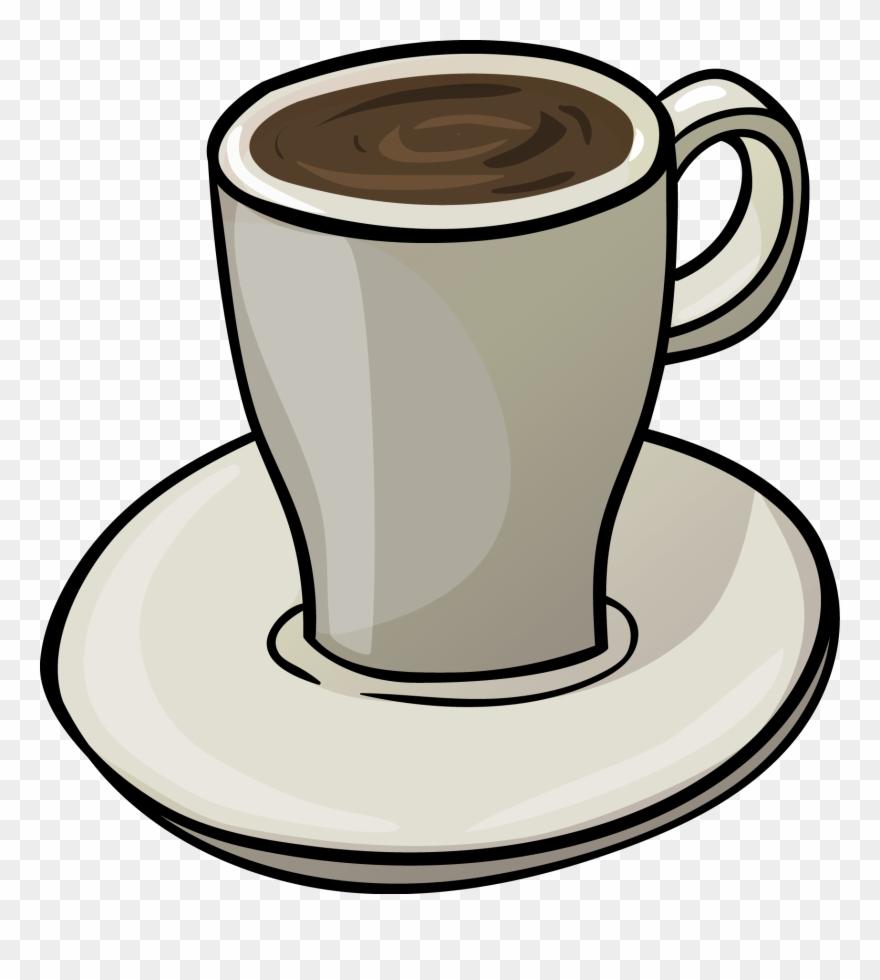 Clipart Cup Tea Biscuit.