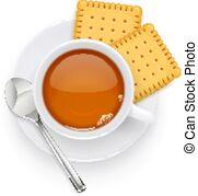 Tea biscuits Vector Clipart Illustrations. 1,905 Tea.
