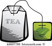 Tea bag Clipart and Illustration. 2,147 tea bag clip art vector.