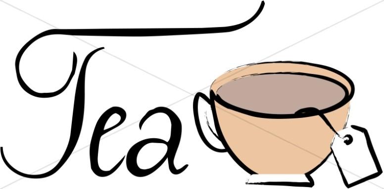 Brewing Tea Bag Clipart.