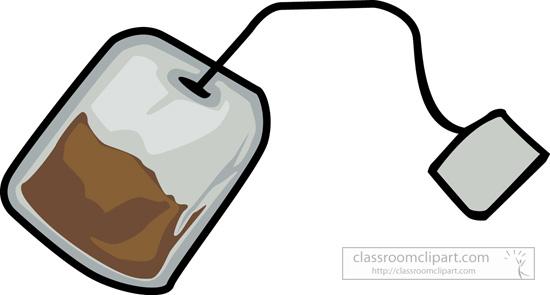 Tea bag clip art.
