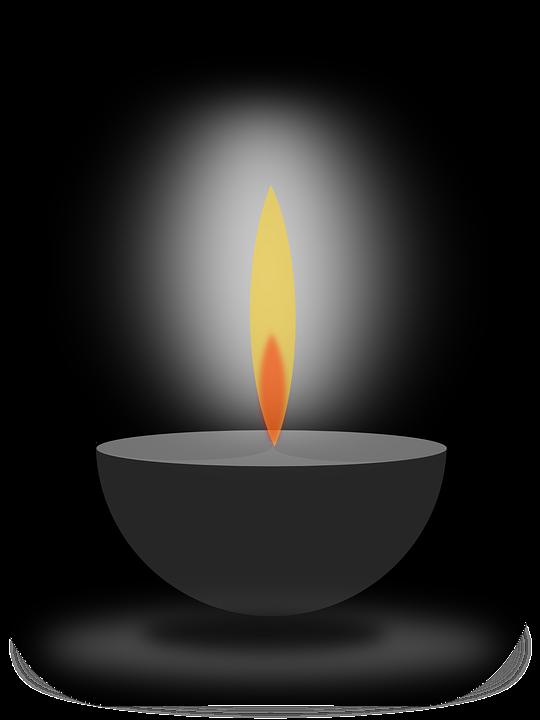 Tea Light Candle Clip Art.