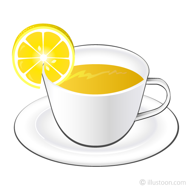 Lemon Tea Clipart Free Picture|Illustoon.