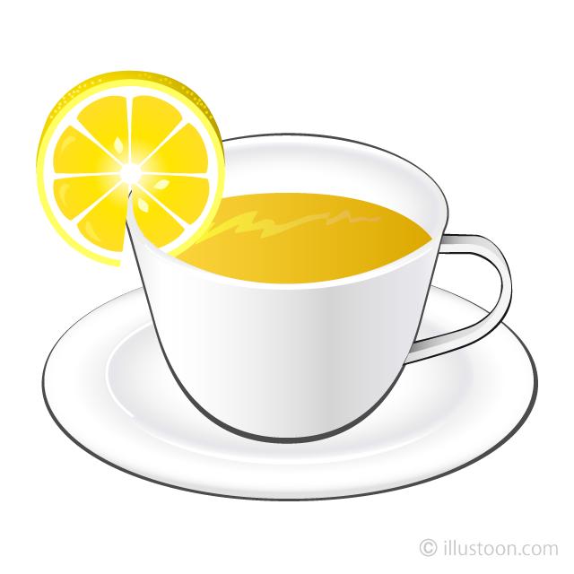 Free Lemon Tea Clipart Image|Illustoon.