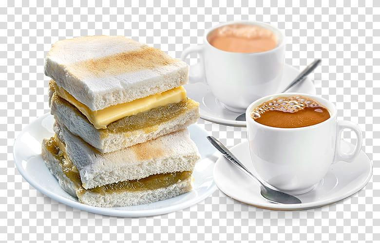 Egg, Breakfast, Toast, Breakfast Sandwich, Tea, Kaya Toast.