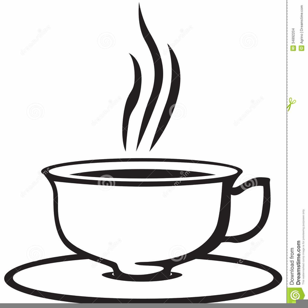 Free Tea Cup And Saucer Clipart.