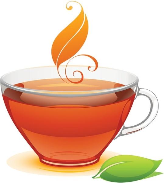 A cup of tea vector Free vector in Encapsulated PostScript.