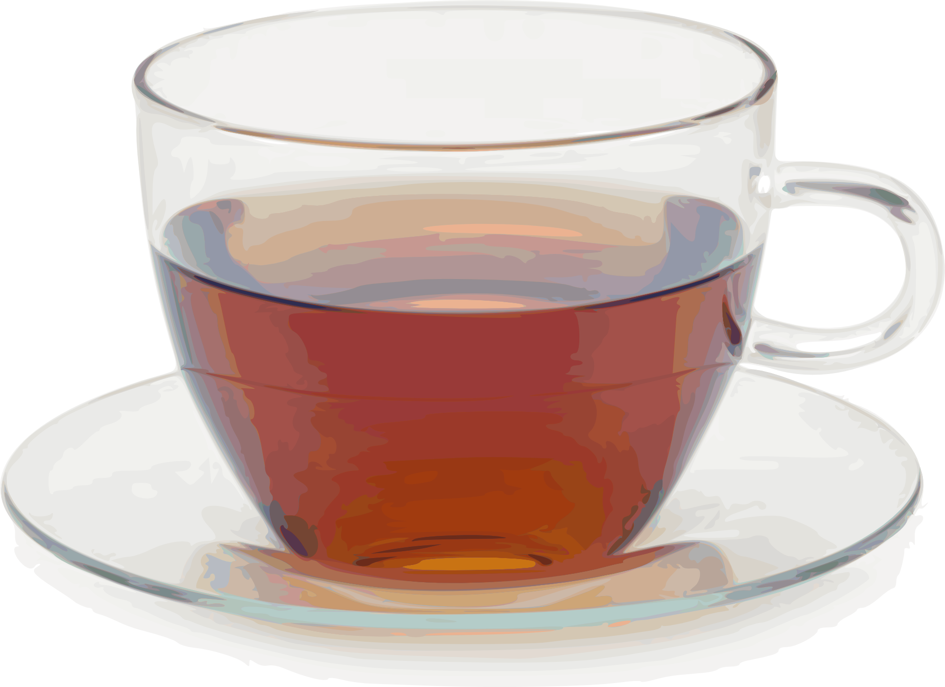 Tea in a Cup PNG Image.