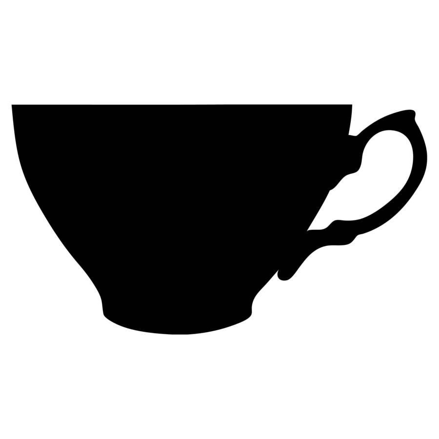 The best free Teacup silhouette images. Download from 30.