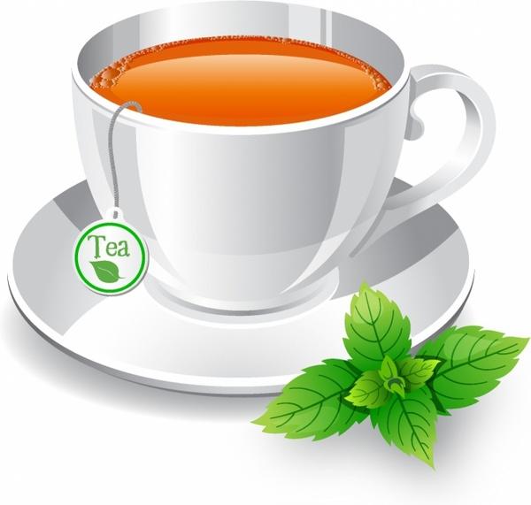 Tea cup Free vector in Adobe Illustrator ai ( .AI.
