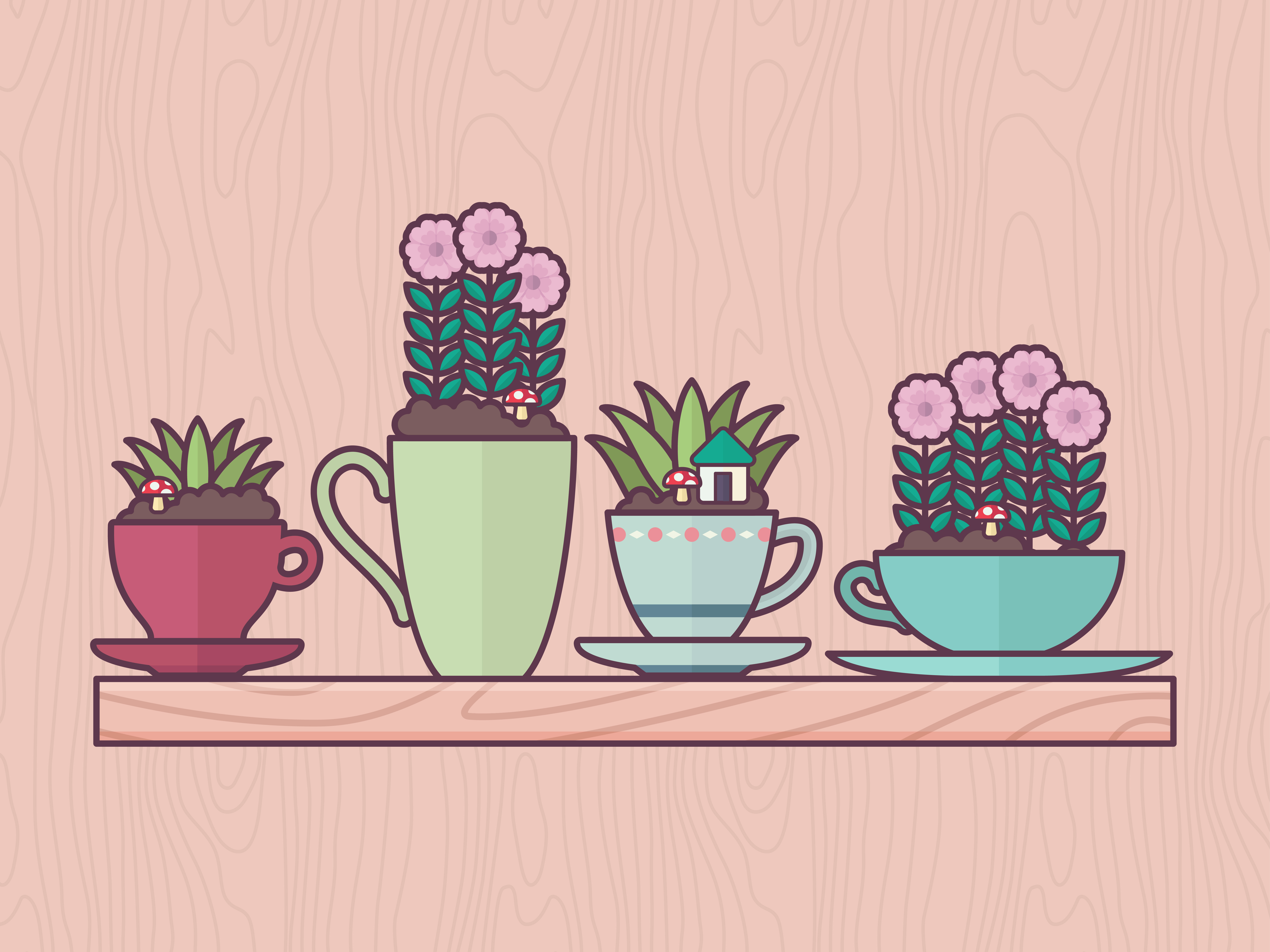 How to Plant a Teacup Garden (with Pictures).