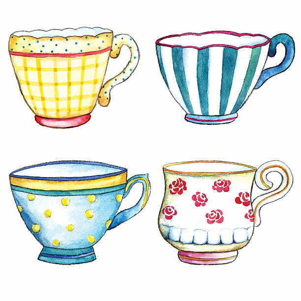 Tea cups clipart 4 » Clipart Station.