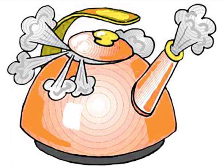 Kettle Boiling Steam PNG, Clipart, Artwork, Beak, Boiling.