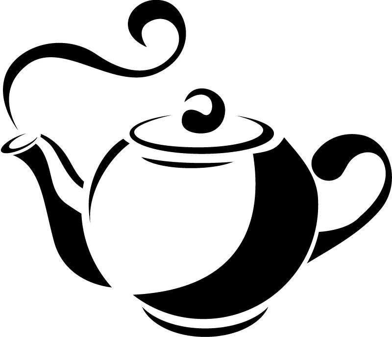 Teapot Clipart.