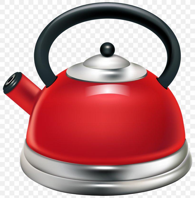 Electric Kettle Teapot Steam Clip Art, PNG, 2959x3000px.