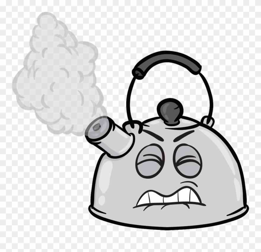 Steam Clipart Tea Kettle.