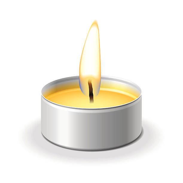 Tea Lights Clip Art, Vector Images & Illustrations.