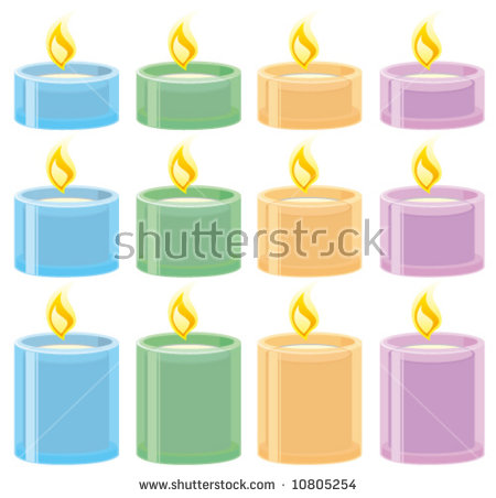 Tea Light Stock Photos, Royalty.