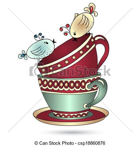 tea party clip art free downloads victorian.