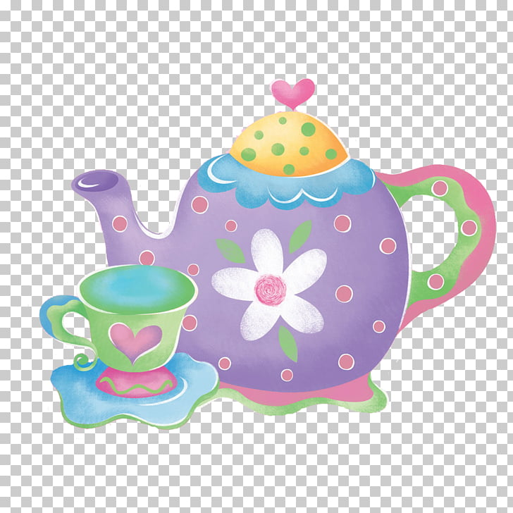 Tea party graphics, Special Event PNG clipart.
