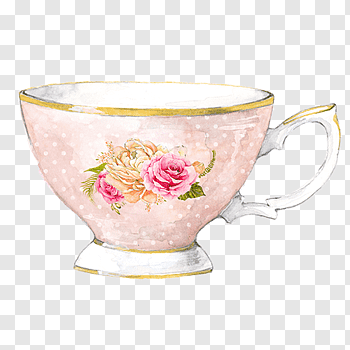Tea Party cutout PNG & clipart images.