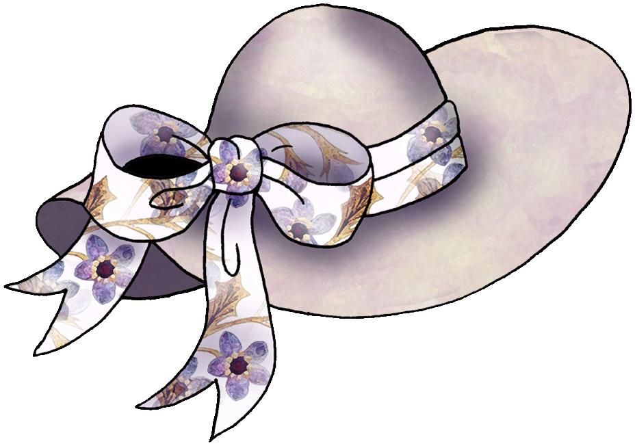 Tea Party Hat Clipart.
