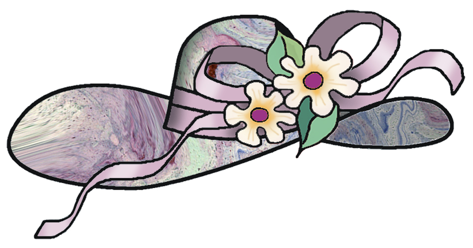 Tea Party Hats Clip Art.