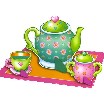 Tea Party Clipart Images.