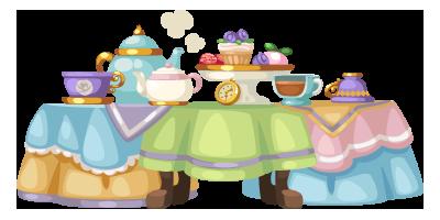 Tea Party Table Clipart.