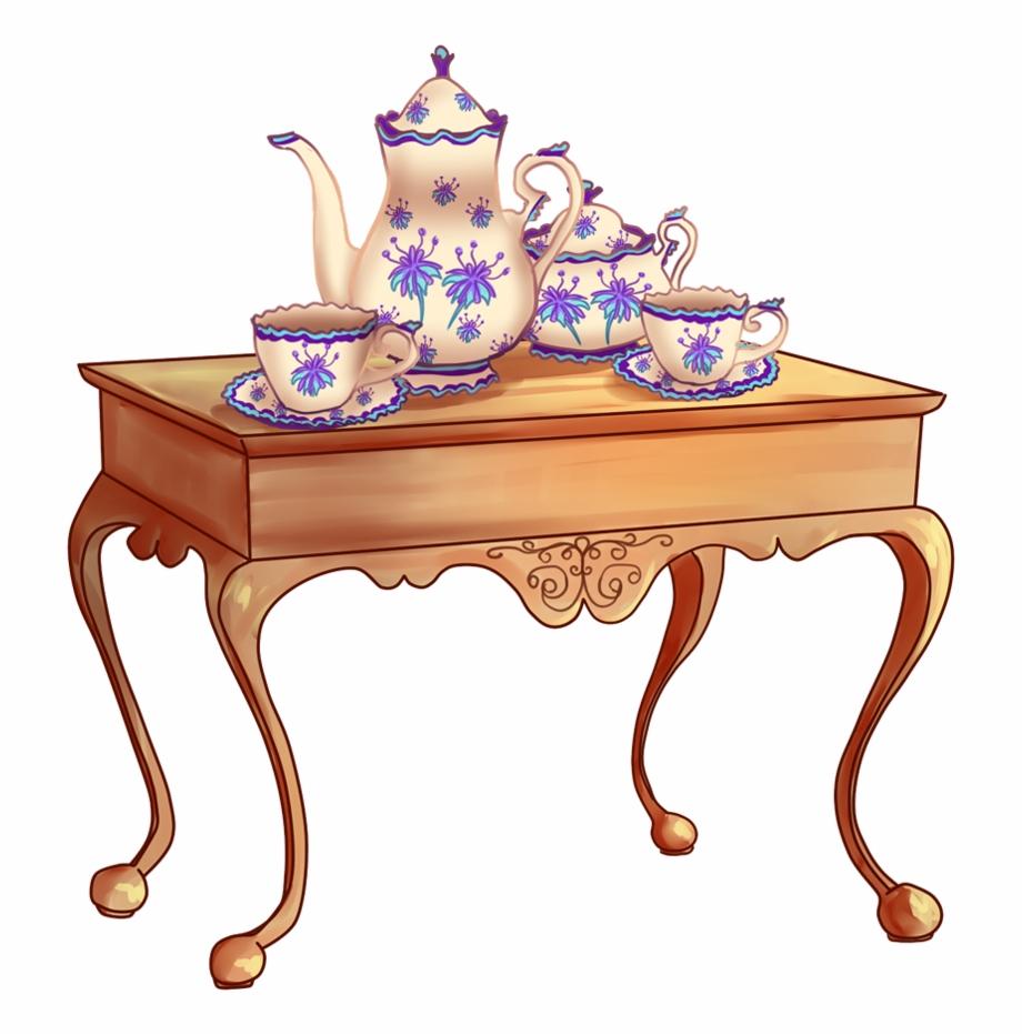 Table Clipart Tea Table.