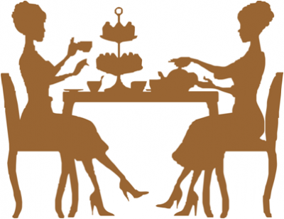 Ladies Tea Party Clipart.