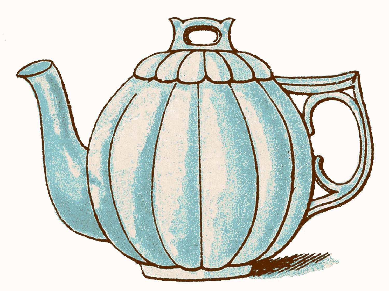 Teapot tea pot clipart.