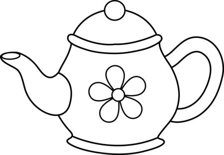Teapot free tea pot clip art clipart.